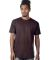 MC1082 Cotton Heritage Men's Los Angeles Cotton Crew Neck Tee Chocolate