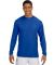 N3165 A4 Adult Cooling Performance Long Sleeve Crew ROYAL