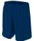 N5343 A4 Drop Ship Men's Woven Soccer Shorts NAVY