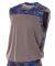 NB2345 A4 Drop Ship Youth Camo Performance Muscle Shirt ROYAL