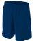NB5343 A4 Drop Ship Youth Woven Soccer Shorts NAVY