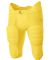 NB6180 A4 Youth Flyless Integrated Football Pant GOLD