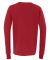 BELLA+CANVAS 3501Y Youth Long-Sleeve T-Shirt RED