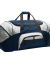 BG99 Port & Company® - Colorblock Sport Duffel Navy/Grey