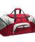BG99 Port & Company® - Colorblock Sport Duffel Red/Grey