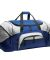 BG99 Port & Company® - Colorblock Sport Duffel True Royal/Gry