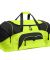 BG99 Port & Company® - Colorblock Sport Duffel Safety Ylw/Blk