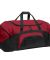 BG99 Port & Company® - Colorblock Sport Duffel True Red/Black