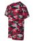2181 Badger - Youth Camo Short Sleeve T-Shirt Red