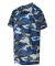 2181 Badger - Youth Camo Short Sleeve T-Shirt Royal