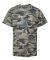2181 Badger - Youth Camo Short Sleeve T-Shirt Sand