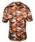 2181 Badger - Youth Camo Short Sleeve T-Shirt Burnt Orange