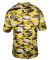 2181 Badger - Youth Camo Short Sleeve T-Shirt Gold