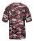 2181 Badger - Youth Camo Short Sleeve T-Shirt Maroon