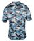 2181 Badger - Youth Camo Short Sleeve T-Shirt Columbia Blue