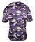 2181 Badger - Youth Camo Short Sleeve T-Shirt Purple
