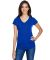 6750VL Anvil - Ladies' Triblend V-Neck T-Shirt  Atlantic Blue