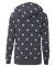 Alternative Apparel 9573 Ladies Eco Fleece Hoodie STARS