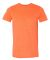 980 Anvil Combed Ring Spun Cotton T-Shirt HEATHER ORANGE