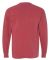 4410 Comfort Colors - Long Sleeve Pocket T-Shirt CRIMSON