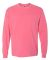 4410 Comfort Colors - Long Sleeve Pocket T-Shirt CRUNCHBERRY