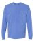 4410 Comfort Colors - Long Sleeve Pocket T-Shirt FLO BLUE