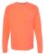 4410 Comfort Colors - Long Sleeve Pocket T-Shirt NEON RED ORANGE