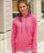 8616 J. America - Women's Cosmic Poly Contrast Hooded Pullover Sweatshirt Catalog