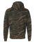 8615 J. America Tailgate Hooded Fleece Pullover Camo