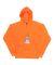 8615 J. America Tailgate Hooded Fleece Pullover Hydrator Orange