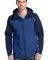 J335 Port Authority Hooded Core Soft Shell Jacket NtSky Bl/DB Ny