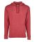 9300 Next Level Unisex PCH Pullover Hoody  HEATHER CARDINAL
