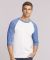 5700 Gildan Heavy Cotton Three-Quarter Raglan T-Shirt Catalog