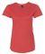 6750L Anvil Ladies' Triblend Scoop Neck T-Shirt HEATHER RED