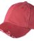 District DT600 Distressed Dad Hat Dashing Red