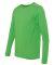 Gildan G474 Adult Tech Long Sleeve T-Shirt ELECTRIC GREEN