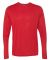 Gildan G474 Adult Tech Long Sleeve T-Shirt RED