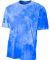 NB3295 A4 Drop Ship Youth Cloud Dye T-Shirt ROYAL