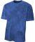 NB3295 A4 Drop Ship Youth Cloud Dye T-Shirt NAVY