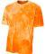 NB3295 A4 Drop Ship Youth Cloud Dye T-Shirt ATHLETIC ORANGE