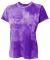 NW3295 A4 Drop Ship Ladies' Cloud Dye Tech T-Shirt PURPLE