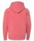 Independent Trading Co. PRM15YSB Youth Raglan Hood Pomegranate
