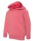 Independent Trading Co. PRM10TSB Toddler Hoodie Pomegranate