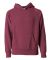 Independent Trading Co. PRM10TSB Toddler Hoodie Crimson