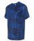 All Sport M1009 Polyester Sport T-Shirt Sport Royal Laser Camo
