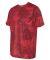 All Sport M1009 Polyester Sport T-Shirt Sport Scarlet Red Laser Camo