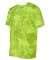All Sport M1009 Polyester Sport T-Shirt Sport Safety Yellow Laser Camo