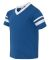 Augusta Sportswear 361 Youth V-Neck Football Tee ROYAL/ WHITE