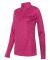 Badger 4173 Tonal Blend Women's Performance Quarte Hot Pink Tonal Blend