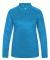 Badger 4173 Tonal Blend Women's Performance Quarte Electric Blue Tonal Blend